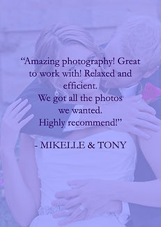 Mikelle and Tony review of Cincinnati and Northern Kentucky best and most affordable wedding photographer Tammy Bryan