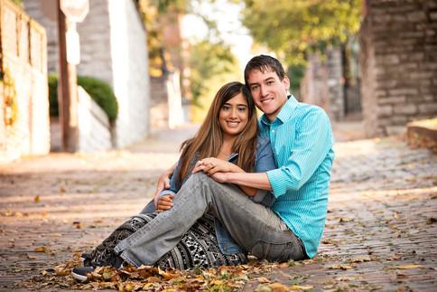Cincinnati best wedding photographer Tammy Bryan engagement portfolio picture - 2