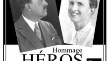 """Hommage aux """"JUSTES"""" du Village : Jeanne et Gaston de Créty et aux villageois d'Anlhiac"""