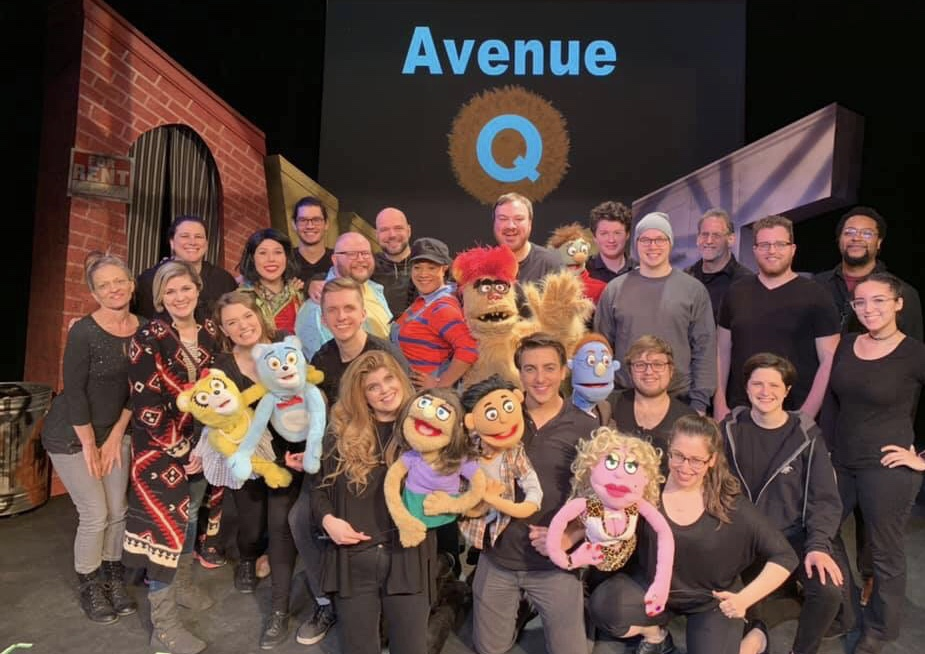 The Cast and Crew of Avenue Q