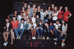 """""""13 the musical"""" Cast photo"""