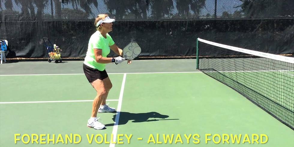 4.0+ Advanced Clinic (Volleys & Blocks)