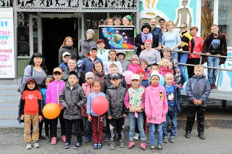 День защиты детей в музее этнографии и природы Горной Шории