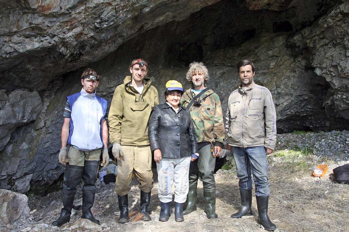 Участники археолого-этнографической экспедиции 2016 г_