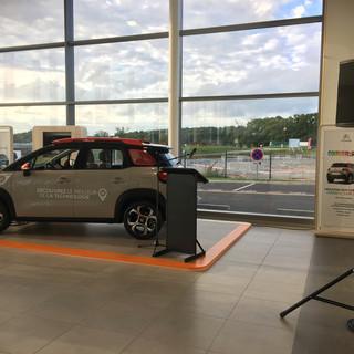 Inauguration concession Citroën Redon