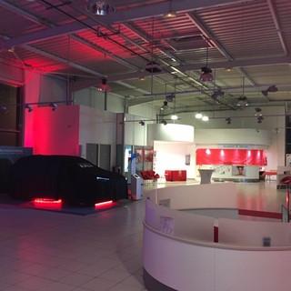 Eclairage concession Toyota Redon