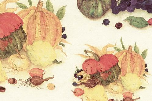 Carta Frutta Zucca 50x70cm (cod.1489)
