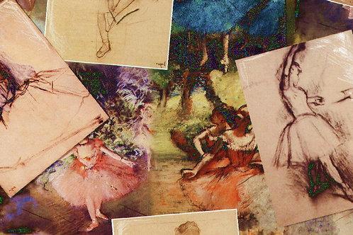 Carta con Disegni Ballerina 50x70cm (cod.6180)