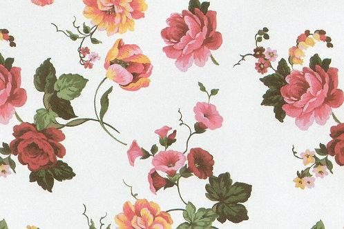 Carta Fiori RosaArancio 50x70cm (cod. 6188)