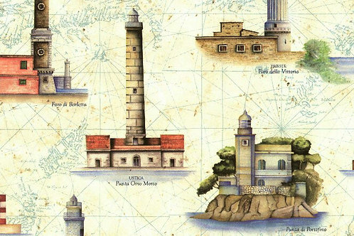 Carta Viaggi Faro 50x70cm(cod.5066)