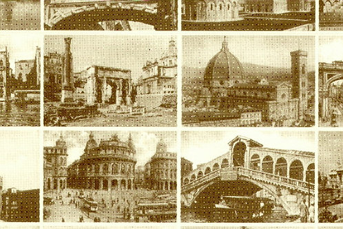 Carta Viaggi Città d' Italia 50x70cm (cod.6122)