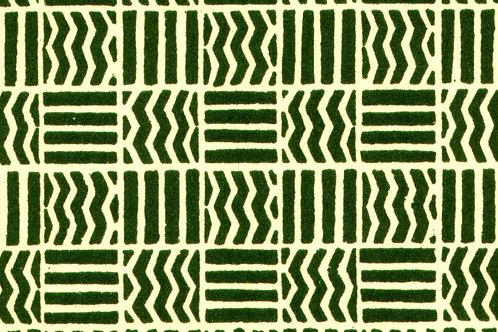 Carta Varese Disegni Geometrici Verde 50x70cm (cod. 0082)