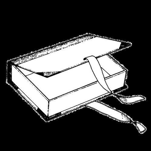 Scatola Finto Libro (in varie misure) da rivestire