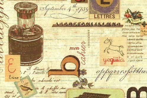 Carta con Alfabeto 50x70cm (cod.6609)