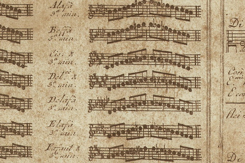 Carta con Spartito 50x70cm (cod.1328)