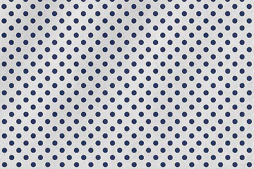 Carta con Puntini Blu su Bianco 50x70cm (cod.7100A)