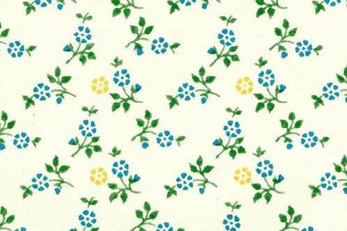 Carta Fiori Piccoli Blu 50x70cm (cod. 0226)