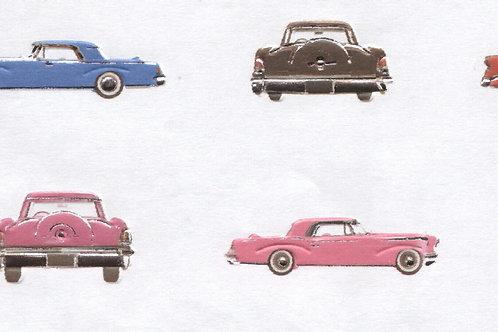 Carta con Automobili 50x70cm (cod.6864)