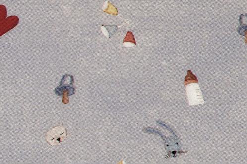 Carta con Bebè Azzurro 50x70cm (cod. 2113)