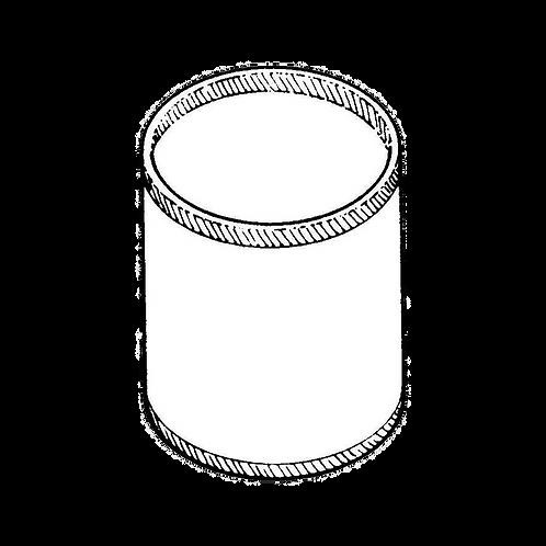 Portamatite rotondo (8x12h) da rivestire