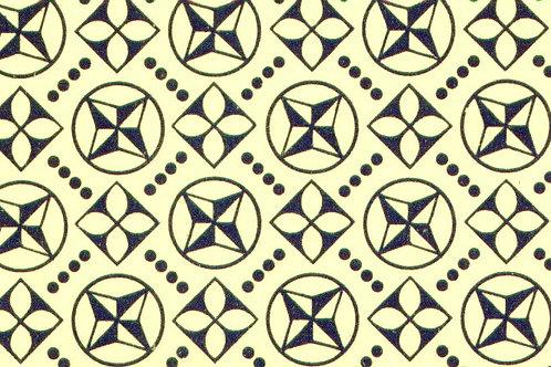 Carta Varese Disegni Geometrici Blu 50x70cm (cod. 0828)