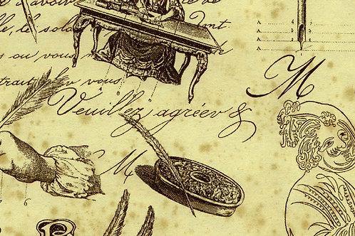 Carta con Scritte 50x70cm (cod.1392)