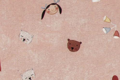 Carta con Bebè Rosa 50x70cm (cod. 2114)