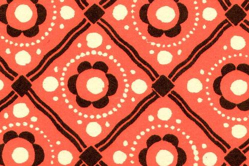 Carta Varese Disegni Geometrici Rosso 50x70cm (cod. 0800)