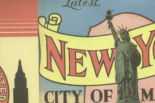 Carta Viaggi New York 50x70cm (cod.5839)