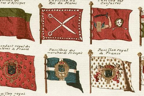 Carta con Bandiere 50x70cm (cod.1431)