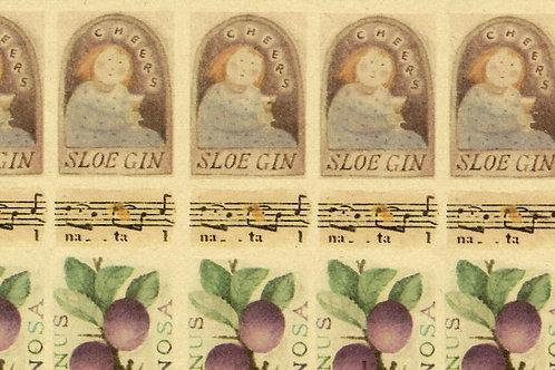 "Carta Frutta ""Sloe Gin"" 50x70cm (cod. 1136)"