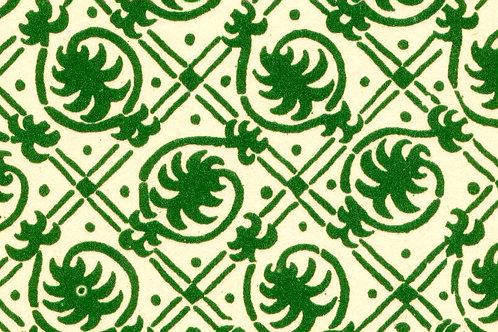 Carta Varese Rami Verde 50x70cm (cod. 0078)