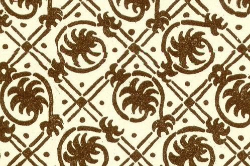 Carta Varese Rami Marrone 50x70cm (cod. 0834)