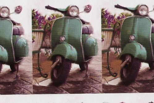 Carta con Vespa Piaggio 50x70cm (cod.6167)