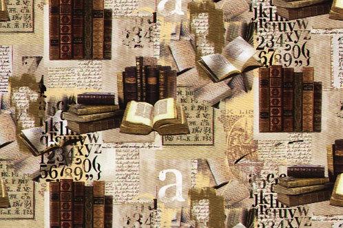 Carta con Libri 50x70cm (cod.6657)