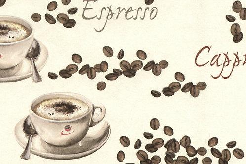 Carta con Caffè 50x70cm (cod. 6867)