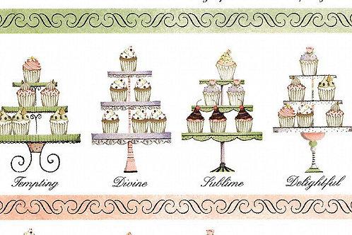 Carta con Torte Matrimonio 50x70cm (cod. 6164)