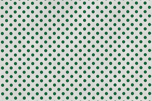 copia di Carta con Puntini Verdi su Bianco 50x70cm (cod.7102A)