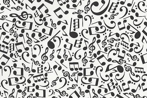 Carta con Note Musicali 50x70cm (cod.7119)