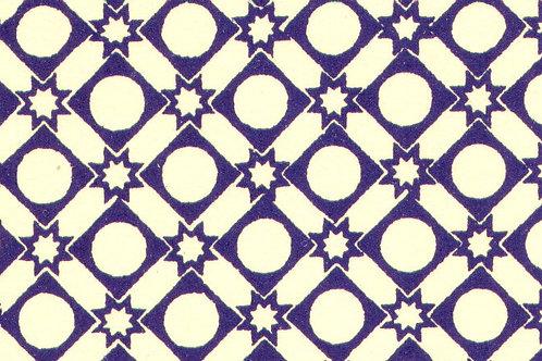 Carta Varese Disegni Geometrici Blu 50x70cm (cod. 0183)