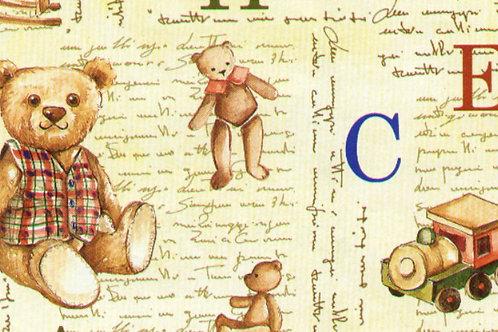 Carta con Orsetti e Giochi 50x70cm (cod.5775)