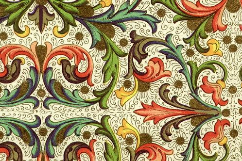 Carta con Disegno Fiorentino 50x70cm (cod.0407)