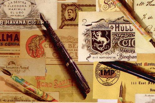 Carta con Penne 50x70cm (cod.1054)