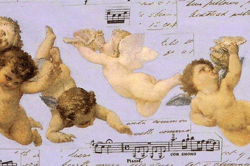 Carta con Angeli 50x70cm (cod. 1382)