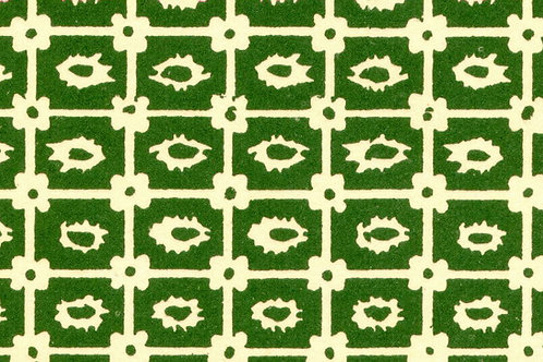 Carta Varese Disegni Geometrici Verde 50x70cm (cod. 0819)