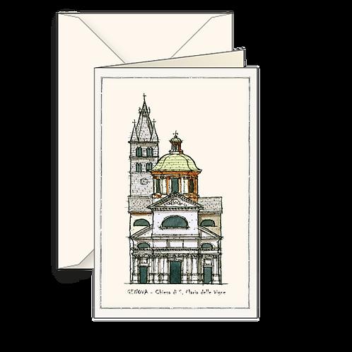 Biglietto Chiesa di S. Maria delle Vigne