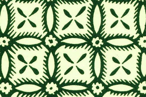 Carta Varese Disegni Geometrici Verde 50x70cm (cod. 0385)