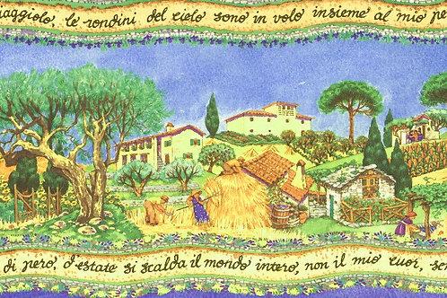 Carta con Campagna 50x70cm (cod. 6192)
