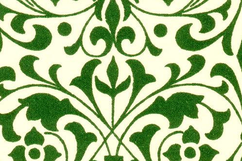 Carta Varese Fiorata Verde 50x70cm (cod. 0192)