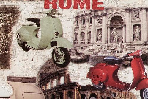 Carta Viaggi Roma 50x70cm (cod.6169)